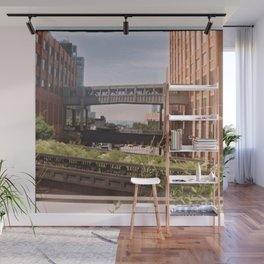 The High Line, New York Wall Mural
