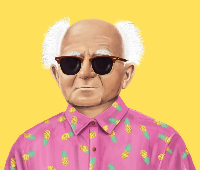 The Israeli Hipster leaders - David Ben Gurion Metal Travel Mug