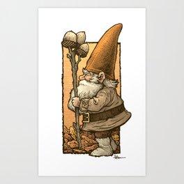 Gnome of the Oaks Art Print