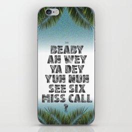 6 Miss Call iPhone Skin