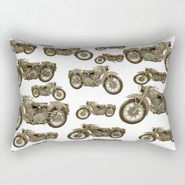Motorcycles Rectangular Pillow