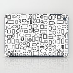 letter N - nailed frames iPad Case