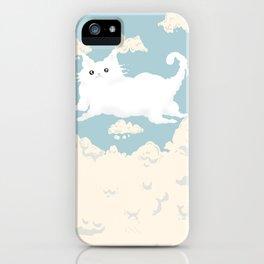 Cat Cloud iPhone Case