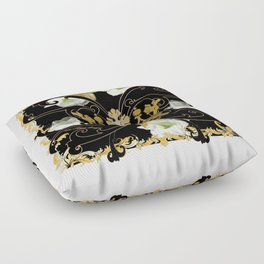 My Empire Collection Summer Set White Flowers Crown Floor Pillow