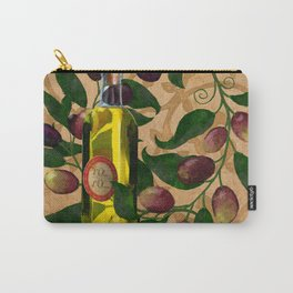 Olives and Italian Olive Oil Carry-All Pouch