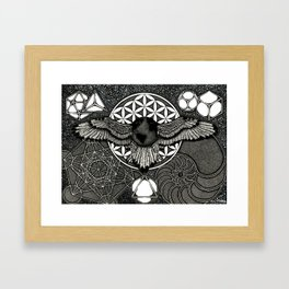 Earth Ascension, Sacred Knowledge Framed Art Print