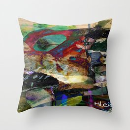 """""""Coelacanth"""" Throw Pillow"""