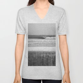 Wave and Icy Wall Unisex V-Neck