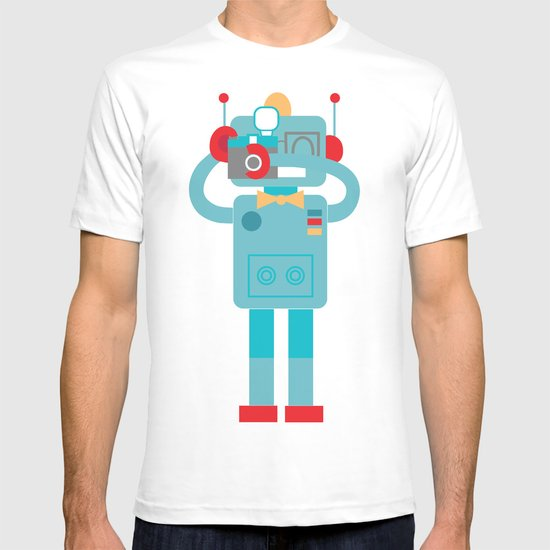 Robot loves Diana T-shirt
