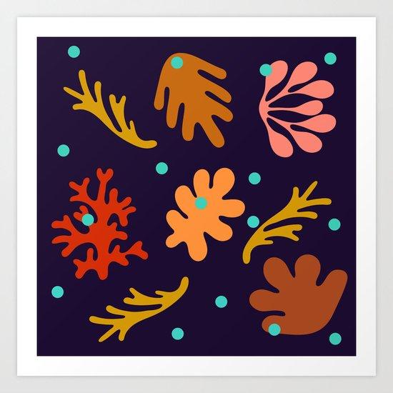Seaweed and Salt Spray Art Print