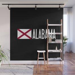 Alabama: Alabamian Flag & Alabama Wall Mural