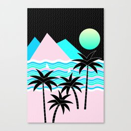 Hello Islands - Starry Waves Canvas Print