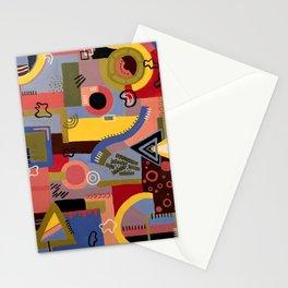 a mass media critique Stationery Cards
