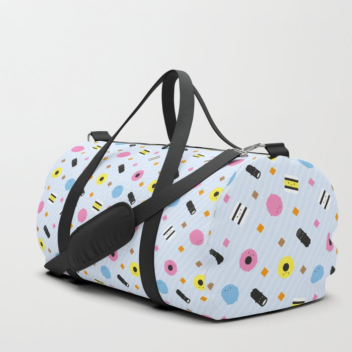 Kawaii Candy Liquorice Allsorts Duffle Bag