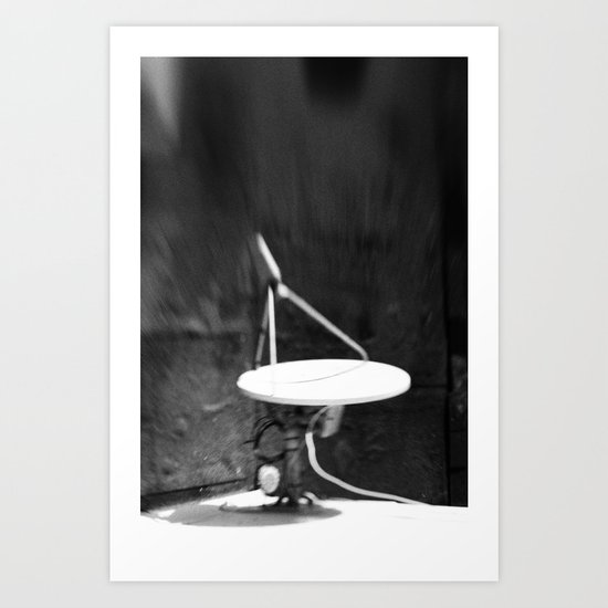 sat-a-lite Art Print