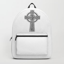 Celtic Knot Cross Tattoo Backpack