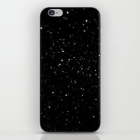 stars iPhone & iPod Skins featuring Stars by Jorge Lopez