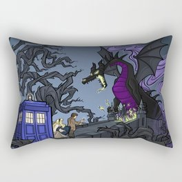 And Now You Will Deal with ME, O' Doctor Rectangular Pillow