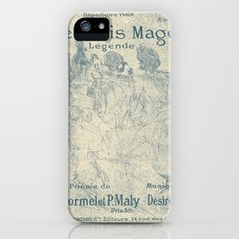 Les Rois Mages iPhone Case