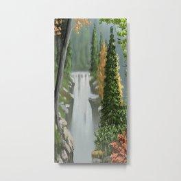 Waterfall 8 Metal Print