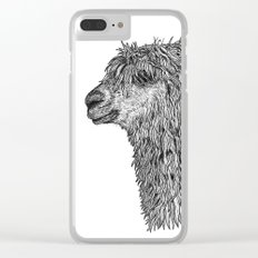 Alpaca Clear iPhone Case