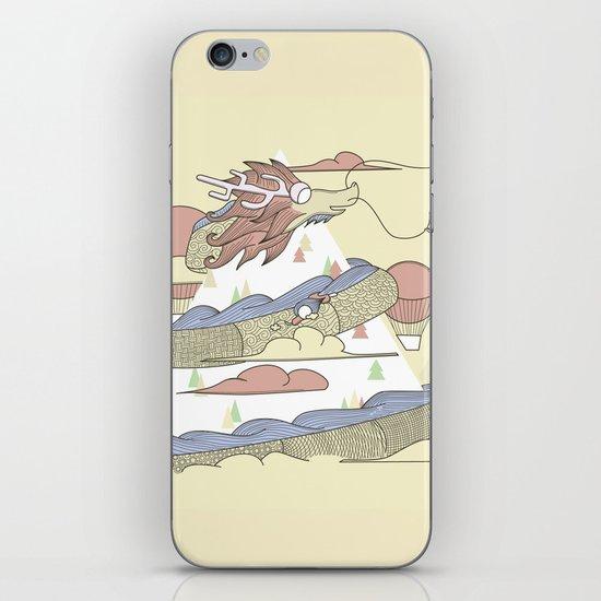 Dragon ride iPhone & iPod Skin