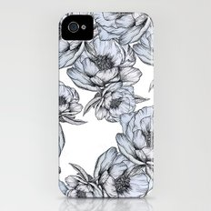 floating flowers iPhone (4, 4s) Slim Case