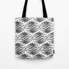 Curly Pattern 08 Tote Bag
