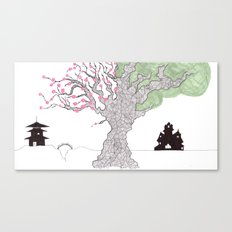 Two Worlds Canvas Print