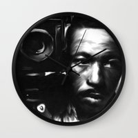 parks Wall Clocks featuring GORDON PARKS: Legend by Tia Hank