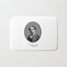 Authors - Charles Dickens Bath Mat