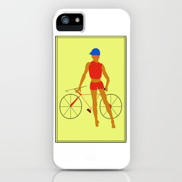 My Bicycle iPhone Case