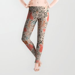 Mongolian Expanse Pattern Leggings