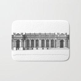 Palais de Bourbon in Paris 1752 Bath Mat