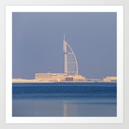 Burj AL Arab Dubai Architecture Art Print