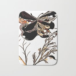On Butterfly Wings Bath Mat