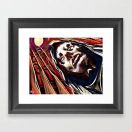 Shelved Framed Art Print