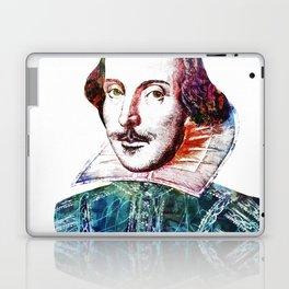 Graffitied Shakespeare Laptop & iPad Skin