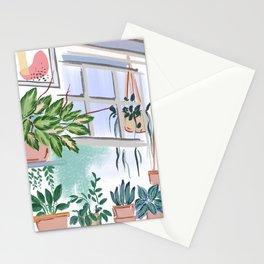 House Plants Illustration 011 Stationery Cards