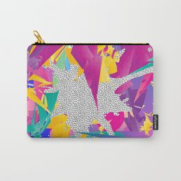 80s Abstract Carry-All Pouch