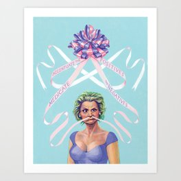 Amy Sedaris Art Print