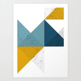 Modern Geometric 19 Art Print