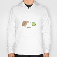kiwi Hoodies featuring Kiwi by EmT Notes