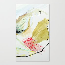Day 52: peaks and valleys. Canvas Print