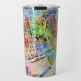 Toronto Street Map Travel Mug