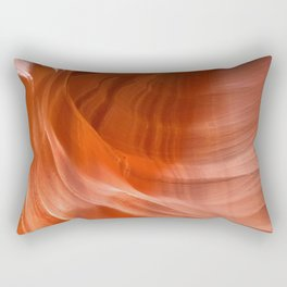 Waves in Antelope Canyon Rectangular Pillow