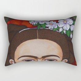Those Eyebrows Rectangular Pillow