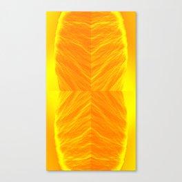 Golden Suitcase Canvas Print