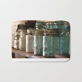 Pioneer Pathways: Canning Jars Bath Mat