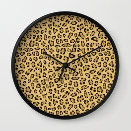 Jaguar pattern Wall Clock
